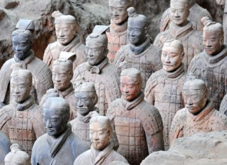 Cina, esercito di terracotta