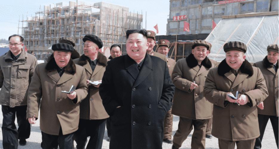 kim jong, inaugurazione