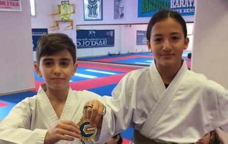 medaglia karate