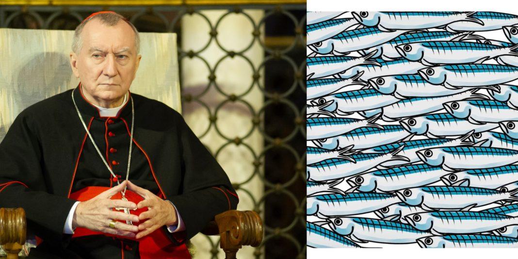 sardine, con cardinale parolin