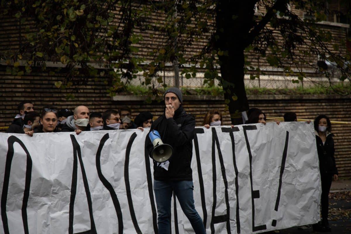 studenti romani, protesta