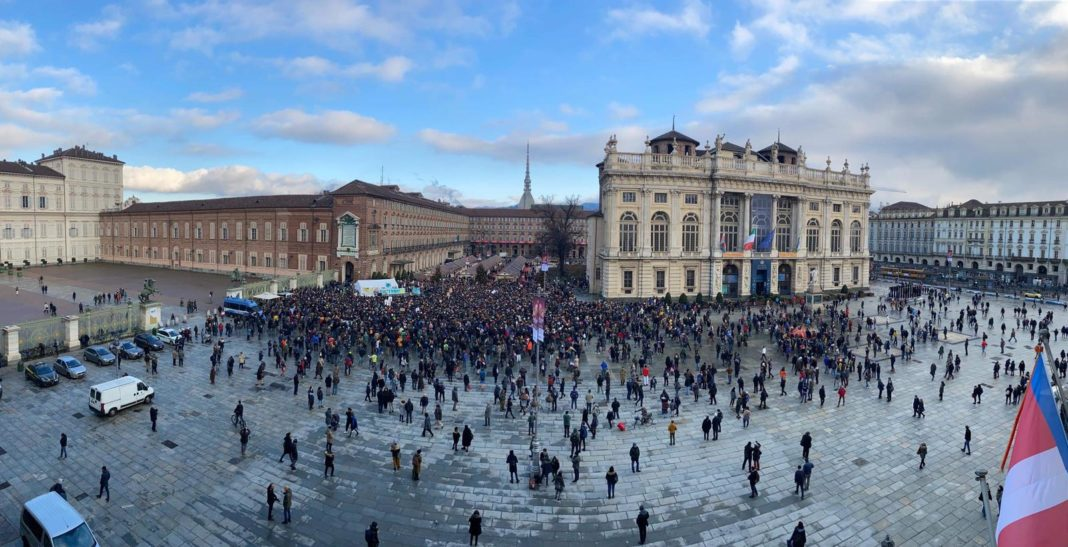 Greta, a Torino