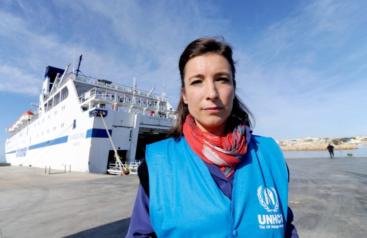 Carlotta Sami portavoce Sud Europa Unhcr