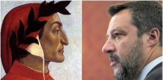 Dante Alighieri e Matteo Salvini