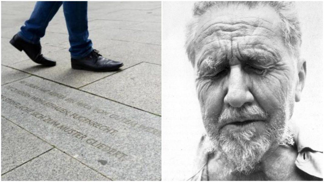 Iscrizione di Ezra Pound a Berlino