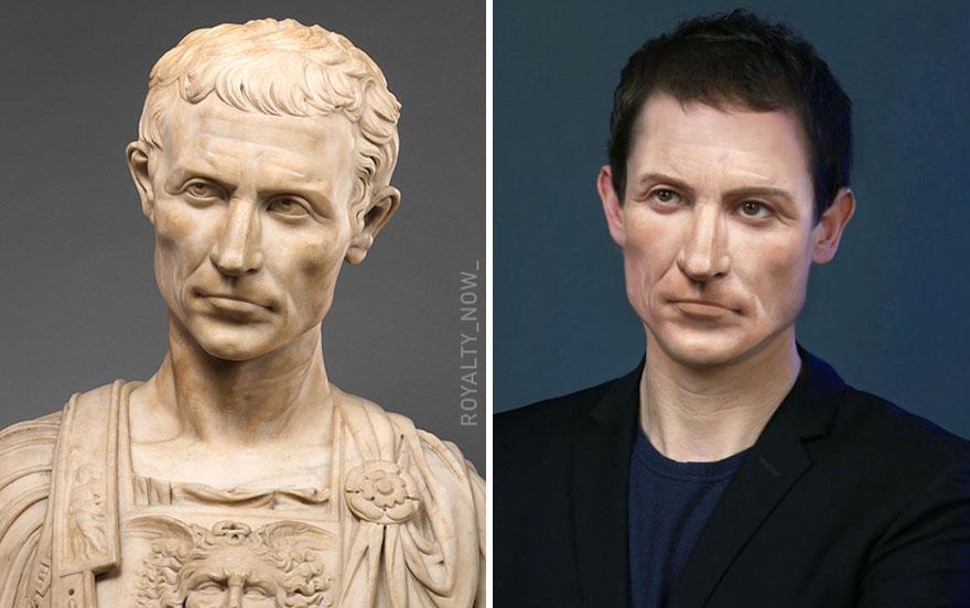 Giulio Cesare ieri e oggi