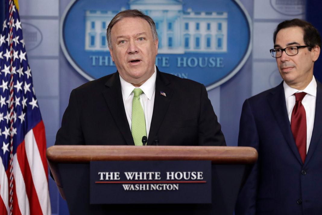 Iran, Pompeo annuncia sanzioni
