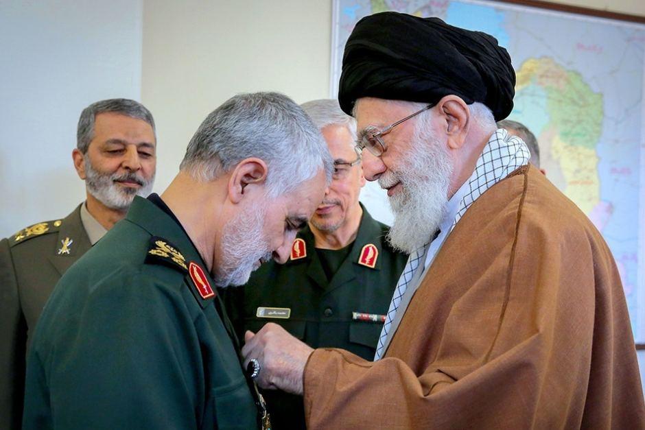Khamenei e Soleimani