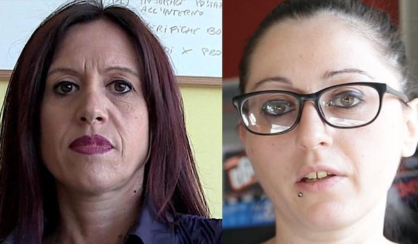 Monica Lozzi e Francesca Di Napoli