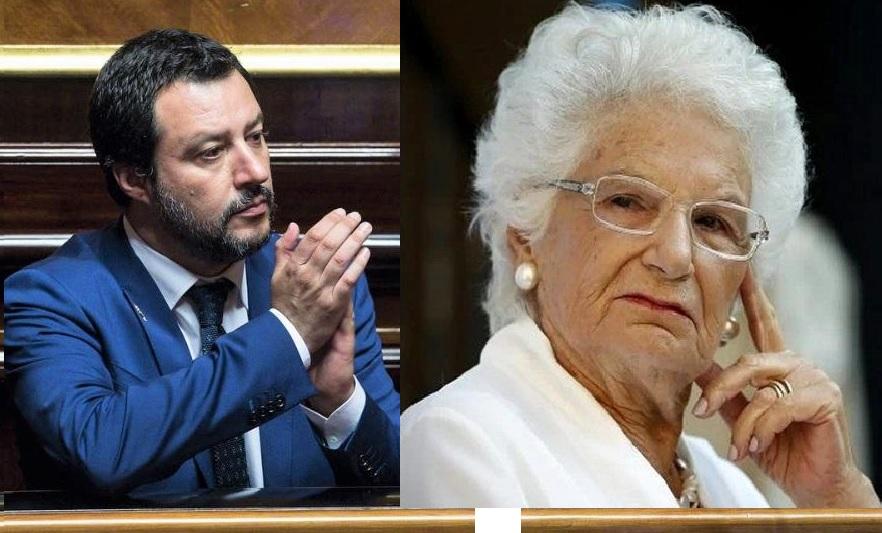 Salvini e la Segre