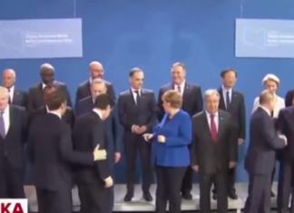 Foto summit Berlino Conte