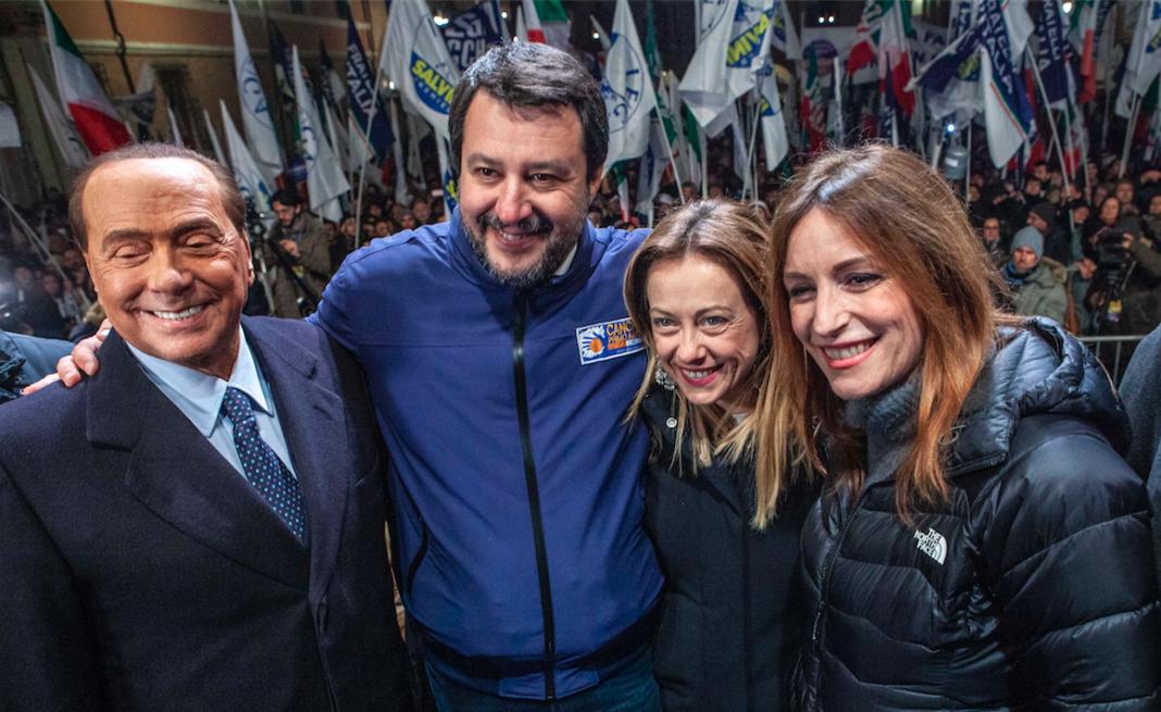 Borgonzoni Salvini centrodestra