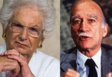 Liliana Segre e Giorgio Almirante