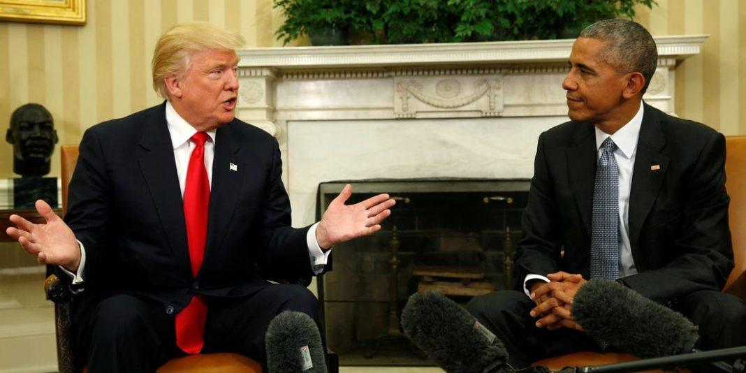 Trump, con Obama
