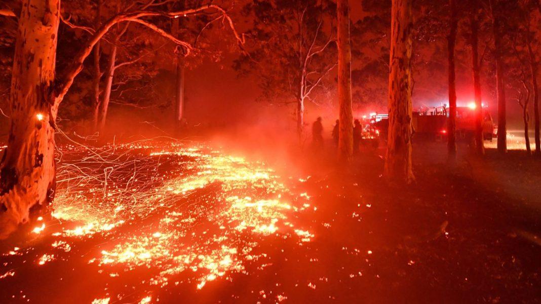 Australia, incendi