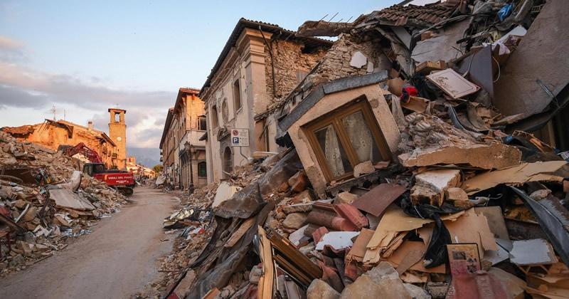 Terremoto, centro italia