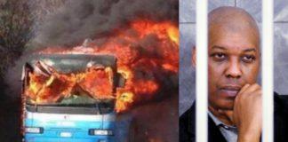 bus incendiato sy