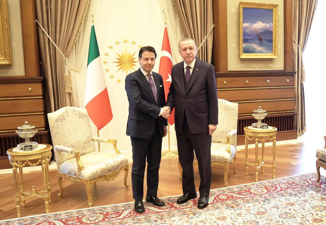 Libia, Conte incontra Erdogan