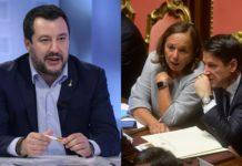 Salvini, Conte e Lamorgese