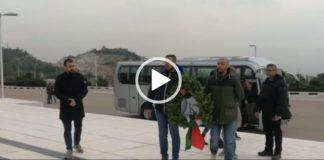Damasco, italiani al monumento ai caduti
