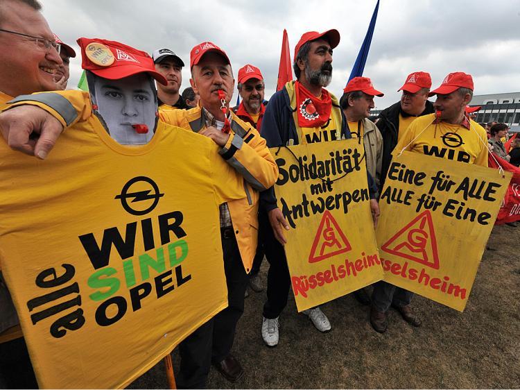 lavoratori Opel