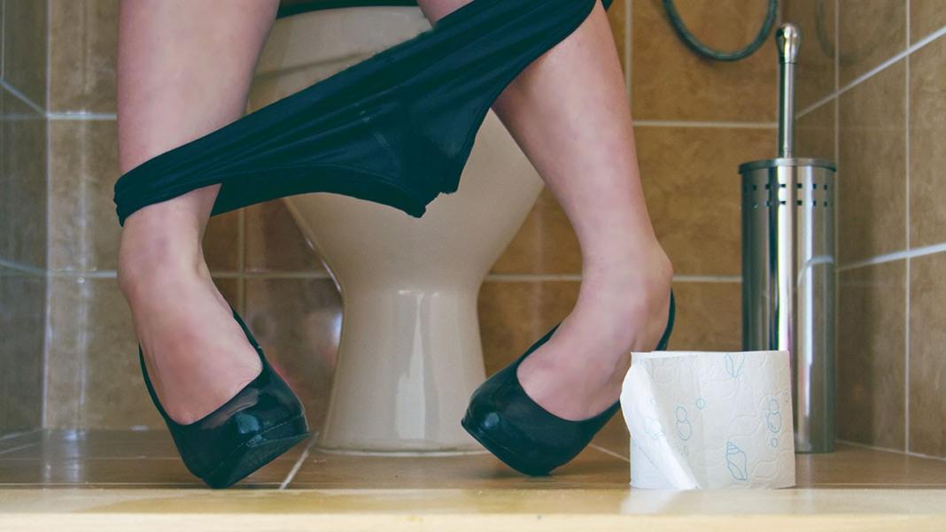 Donna al bagno