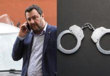 Salvini, manette