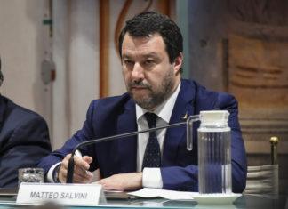 Salvinie, leader lega