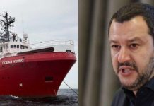 ocean viking salvini