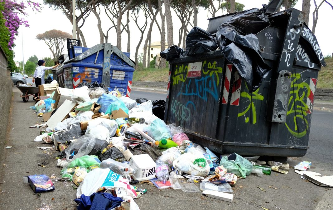rifiuti, a Roma