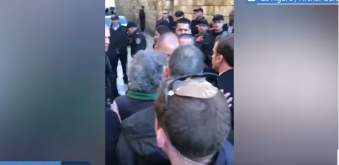 Rissa tra francesi e israeliani