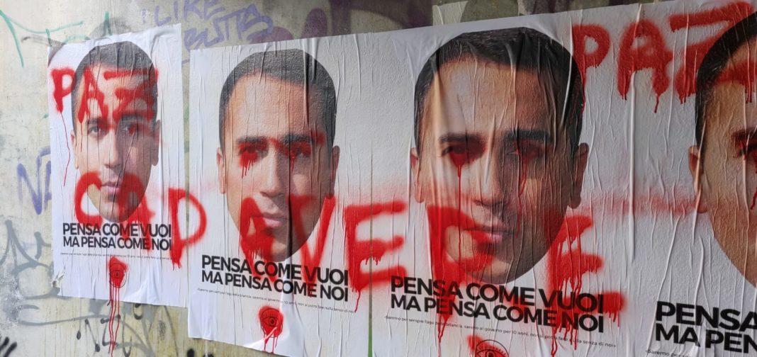minacce morte candidato di CasaPound