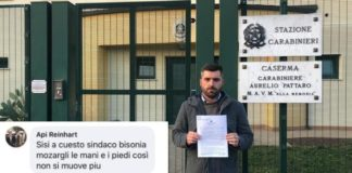 campo rom cadoneghe minacce a sindaco
