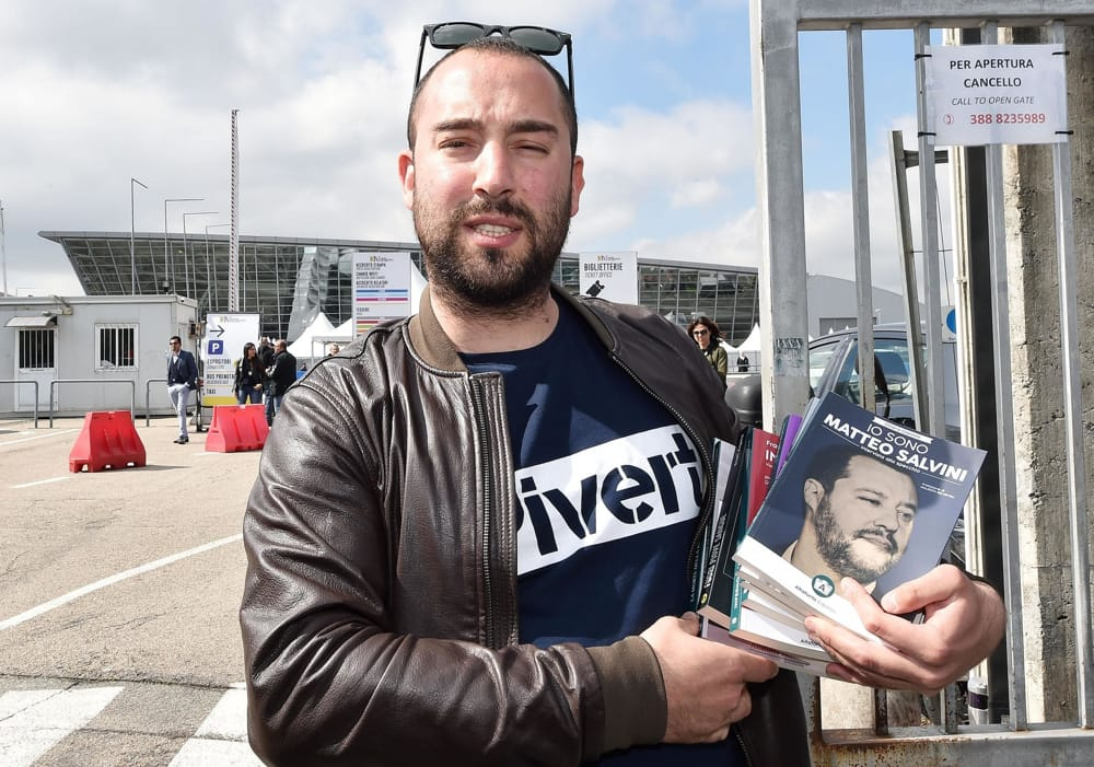 Francesco Polacchi editore Altaforte