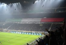 Striscione Inter Foibe