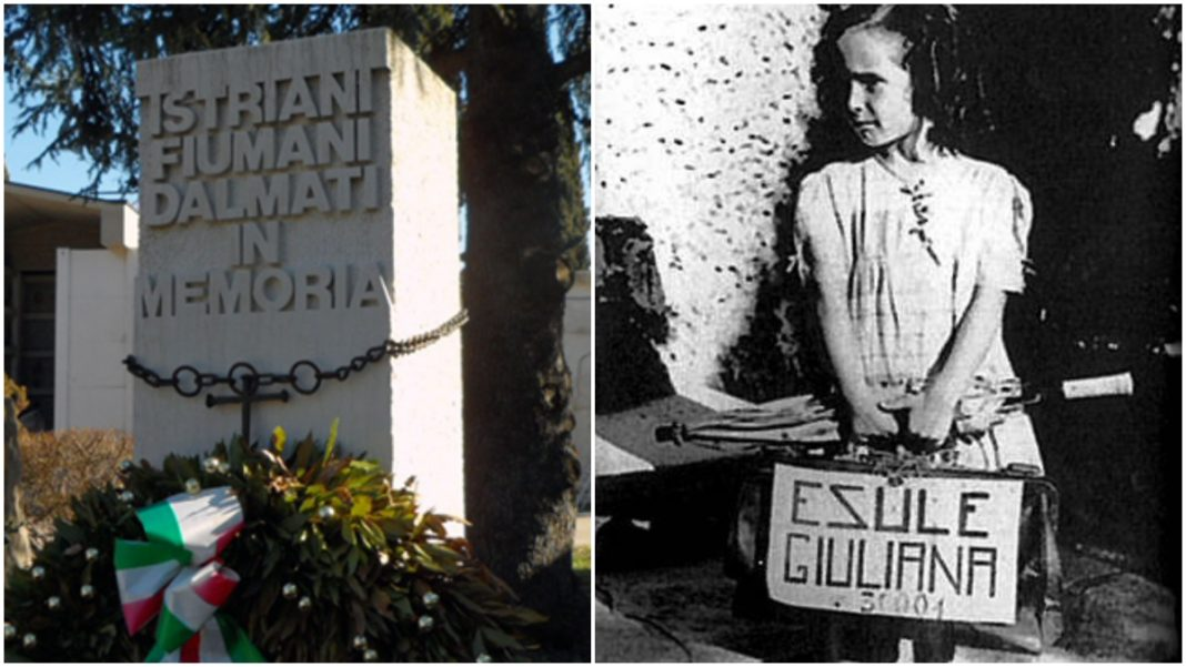 Monumento per i martiri delle Foibe