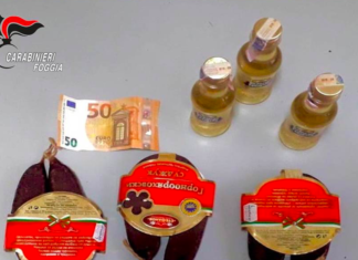salsiccia e liquore bulgaro