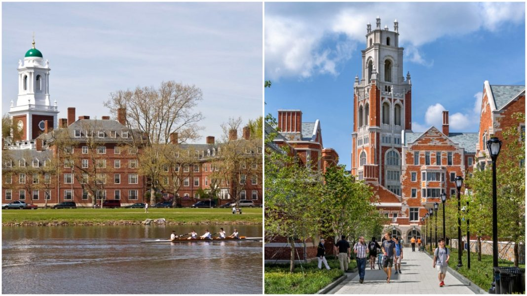 Yale e Harvard
