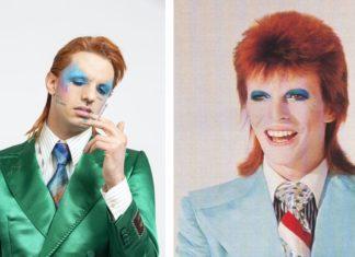 Achille Lauro e David Bowie