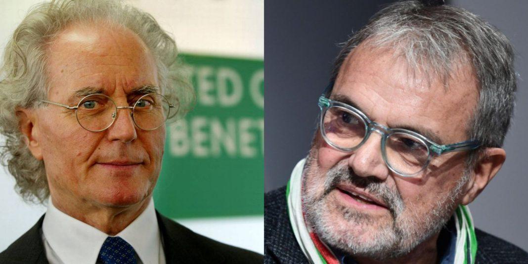 Toscani, con Benetton