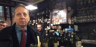 Camillo Langone, al bancone