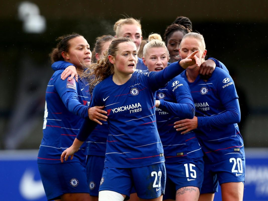 Calcio femminile ciclo mestruale Chelsea