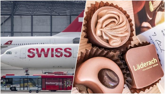 swiss air mette al bando fornitore di cioccolata