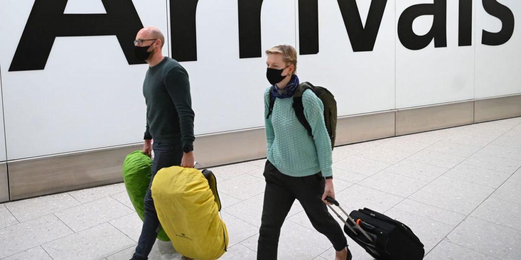 Coronavirus, aeroporto