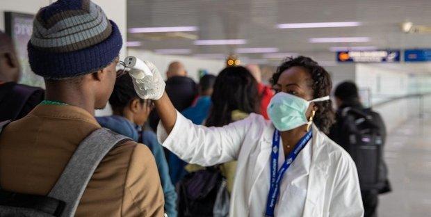 primo caso di coronavirus in africa