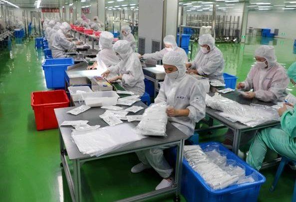 Fabbrica farmaci a Hubei