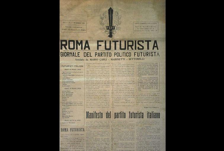 futurismo politico