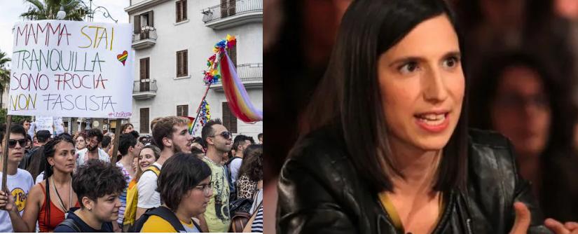Gay pride Elly Schlein