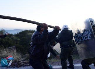 Grecia, scontri