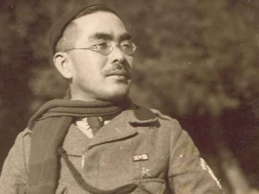 harukichi shimoi, legionario